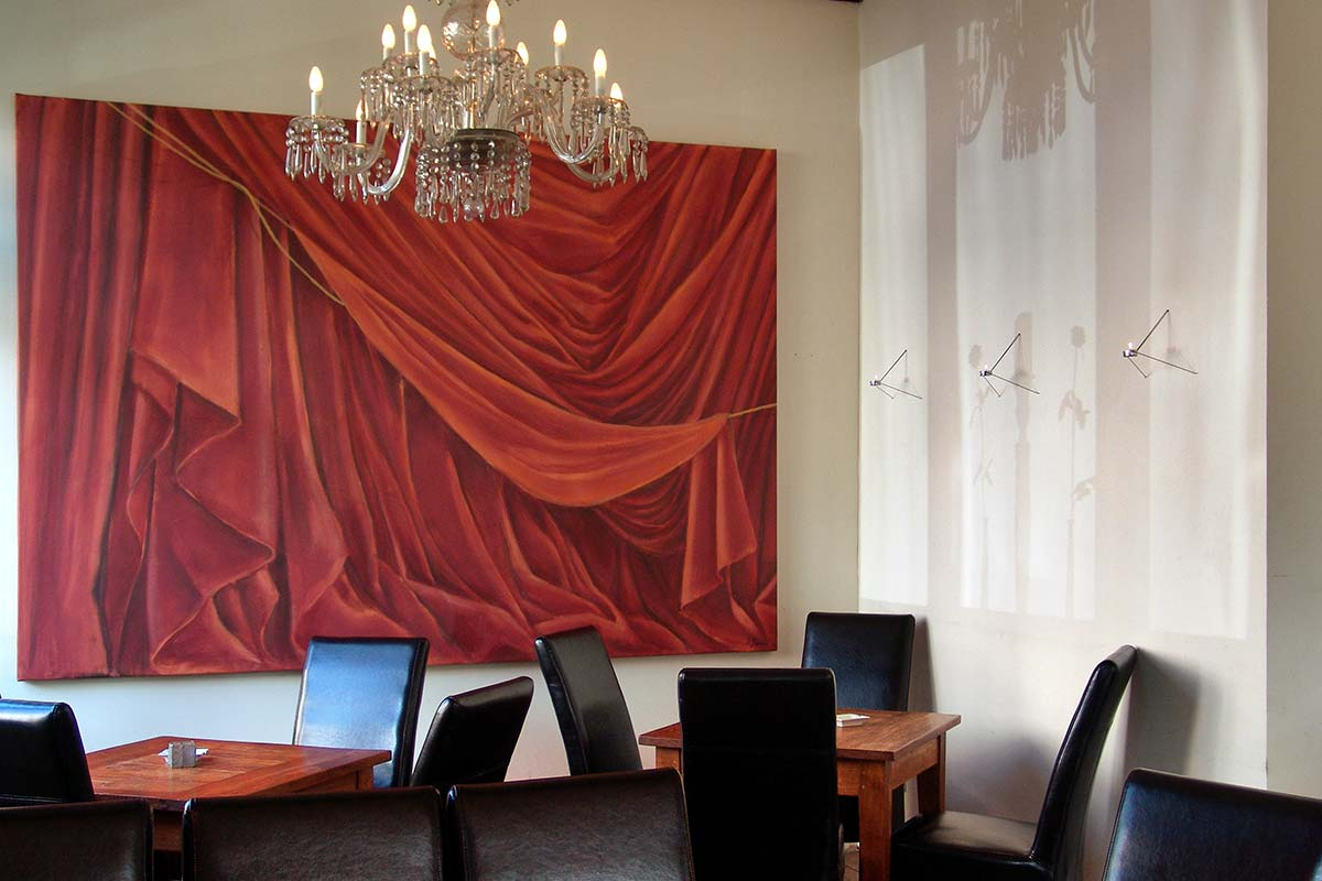 "These drapes are exceptionally decorative, but they are not ""just"" a decorative element."