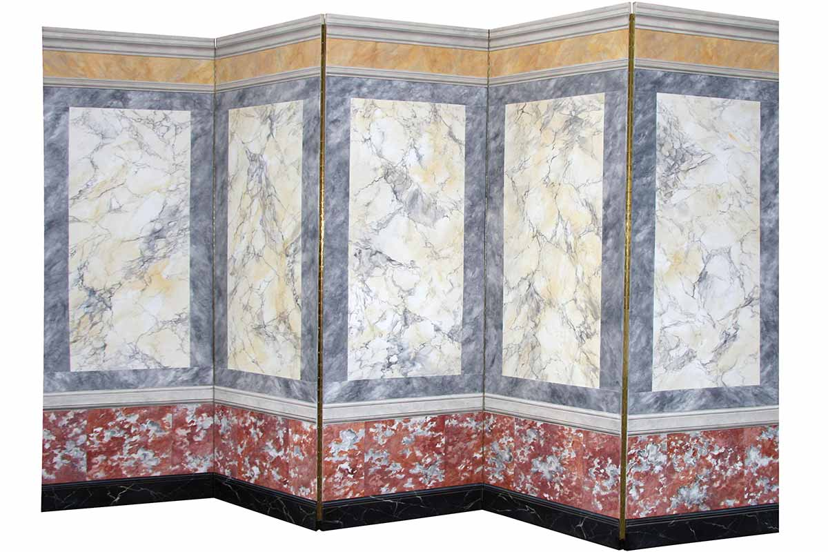 screen with different kinds of marble